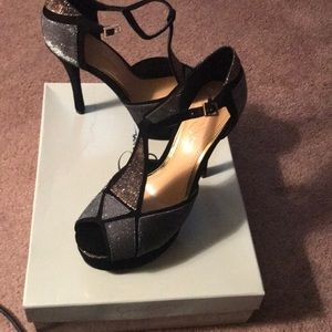 Jessica Simpson party shoes worn once